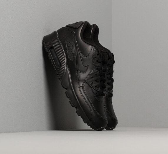 Nike Air Max 90 Leather (GS) Black/ Black