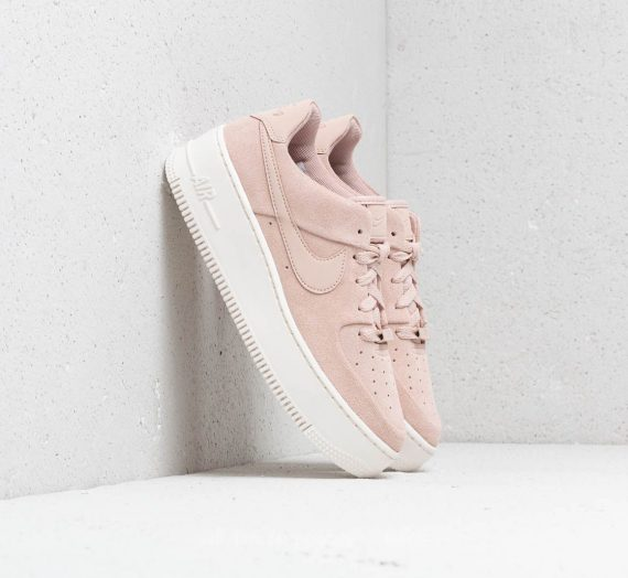 Nike W Air Force 1 Sage Low Particle Beige/ Particle Beige-Phantom 32961