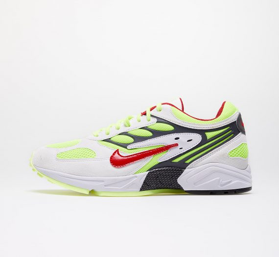 Nike Air Ghost Racer White/ Atom Red-Neon Yellow-Dark Grey 43685