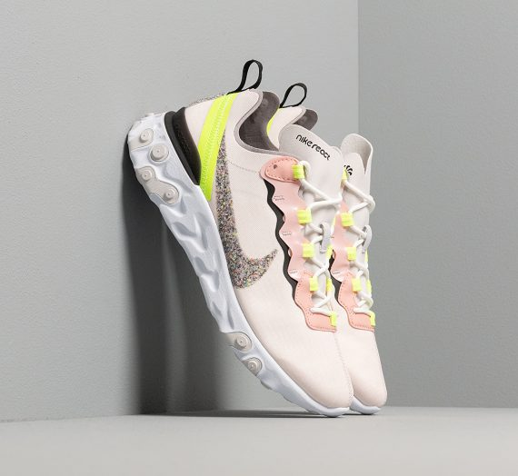 Nike W React Element 55 Premium Light Soft Pink/ Atmosphere Grey-Black