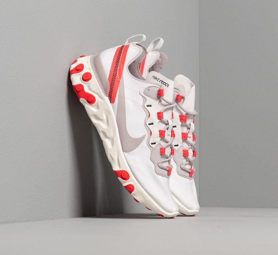 Nike W React Element 55 Platinum Tint/ Silver Lilac-Track Red 49702