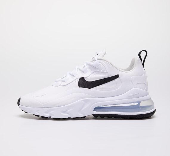 Nike W Air Max 270 React White/ Black-Metallic Silver 49784