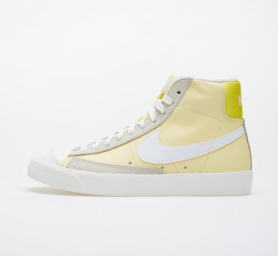 Nike Wmns Blazer Mid '77 Bicycle Yellow/ White-Opti Yellow-Fossil