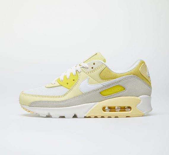 Nike Wmns Air Max 90 Opti Yellow/ White-Fossil-Bicycle Yellow 53081