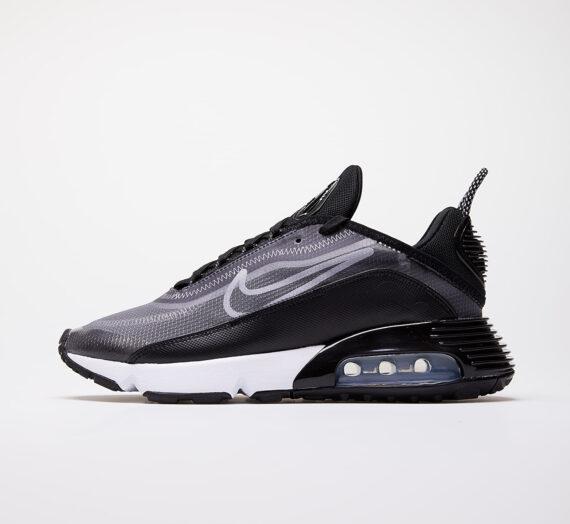 Nike W Air Max 2090 Black/ White-Metallic Silver 53111