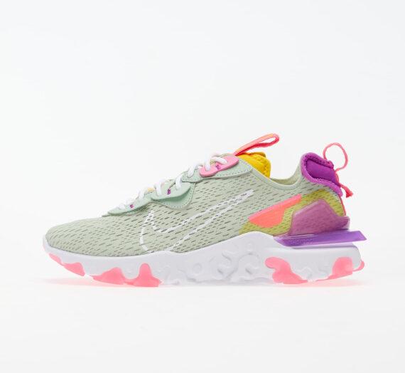 Nike W NSW React Vision Pistachio Frost/ White-Vivid Purple 53139