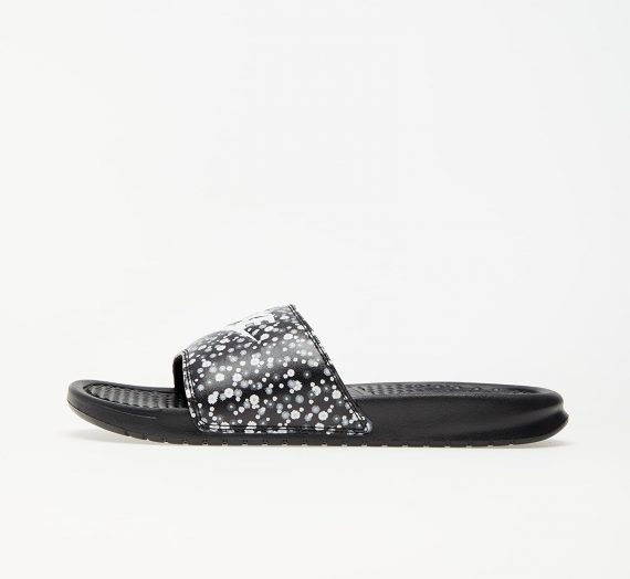 Nike Wmns Benassi JDI Print Black/ White-Black 53198
