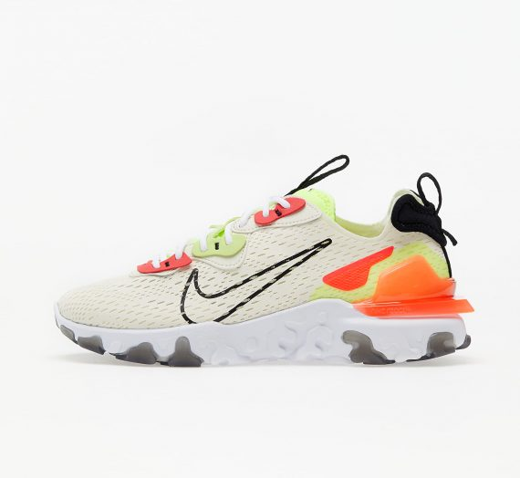 Nike W Nsw React Vision Pale Ivory/ Black-Volt-Laser Crimson 53241