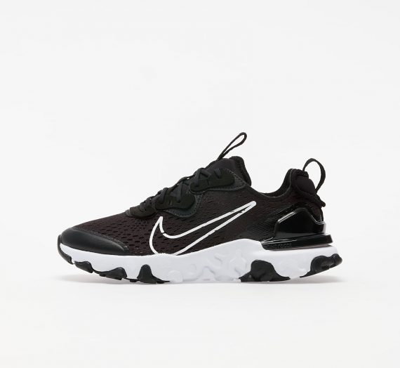 Nike React Vision (GS) Black/ White-Black 56209