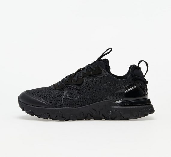 Nike React Vision (GS) Black/ Black-Smoke Grey 60472