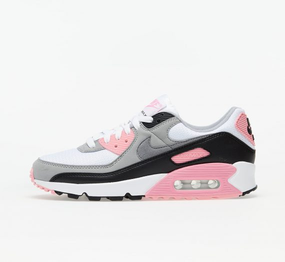 Nike W Air Max 90 White/ Particle Grey-Rose-Black 68068