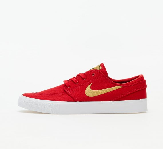 Nike SB Zoom Stefan Janoski Canvas RM University Red/ Club Gold-University Red