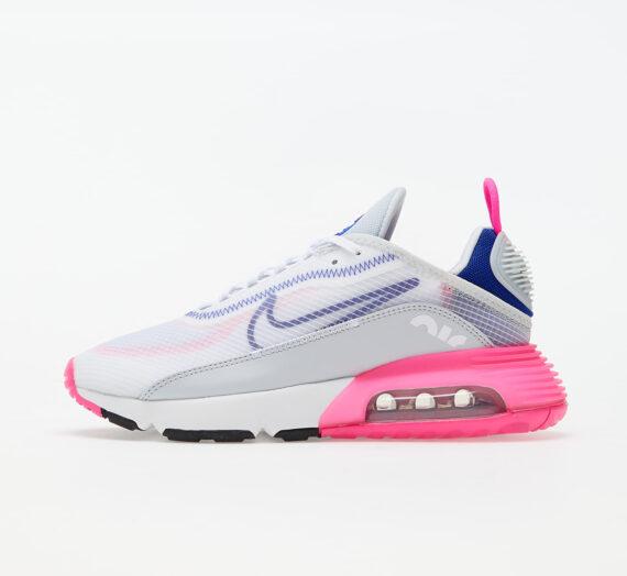 Nike W Air Max 2090 White/ Concord-Pink Blast-Pure Platinum 86239