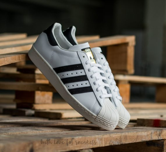 adidas Superstar 80s White/Black1/Chalk2 1327