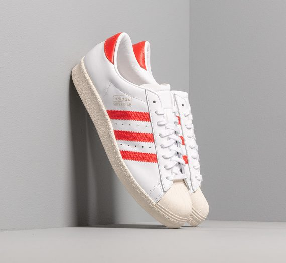 adidas Superstar OG Ftw White/ Core Red/ Off White 27577