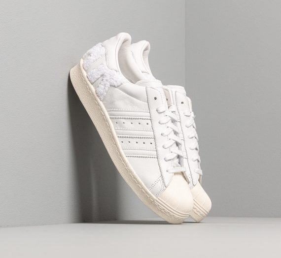 adidas Superstar 80s Crystal White/ Crystal White/ Off White 29724