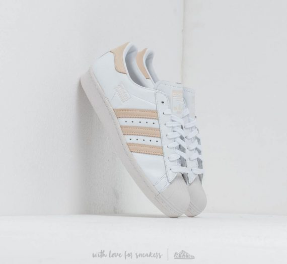 adidas Superstar 80S Ftw White/ Ecrtin/ Crystal White 36720