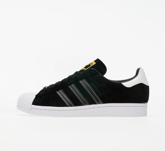 adidas Superstar Core Black/ Core Black/ Gold Metalic 48503