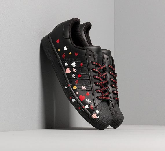 adidas Superstar W Core Black/ Ftw White/ Glow Pink 48564