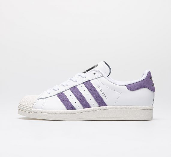 adidas Superstar W Ftw White/ Tech Purple/ Off White 48574