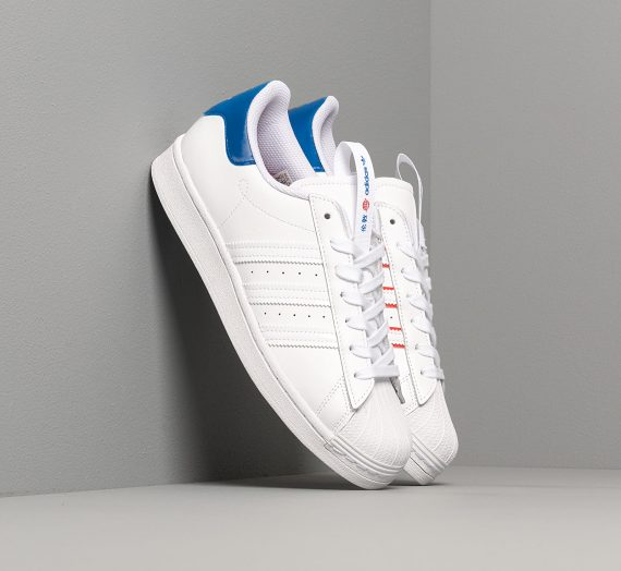 adidas Superstar Cloud White/ Cloud White/ Glory Blue 50974