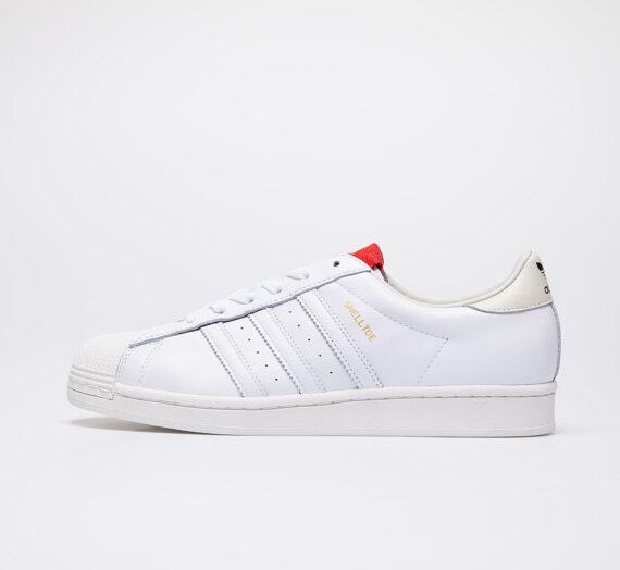 adidas x 424 Shelltoe Core White/ Core White/ Scarlet 53430