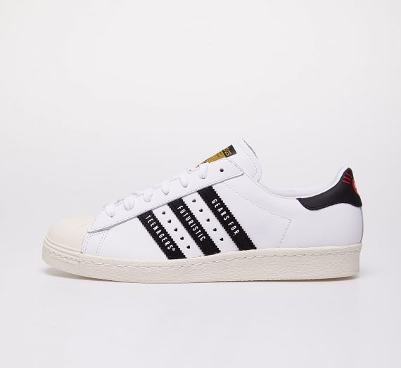 adidas x Pharrell Williams Superstar 80s Human Made Ftwr White/ Core Black/ Off White 53728