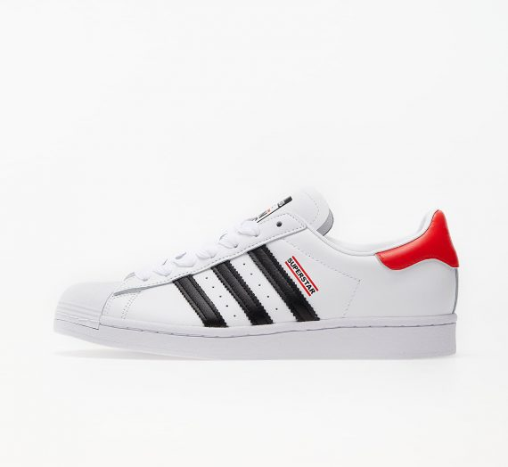 adidas x RUN DMC Superstar 50 Ftw White/ Core Black/ Hi-Res Red 56269