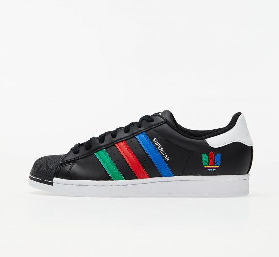adidas Superstar Core Black/ Green/ Ftw White 58423