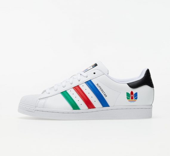 adidas Superstar Ftw White/ Green/ Core Black 58426