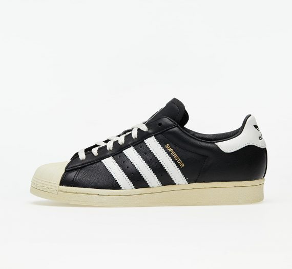 adidas Superstar Core Black/ Crystal White/ Blue 58630
