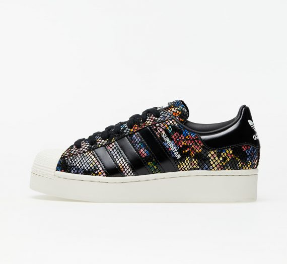 adidas Superstar Bold W Core Black/ Off White/ Red 59158