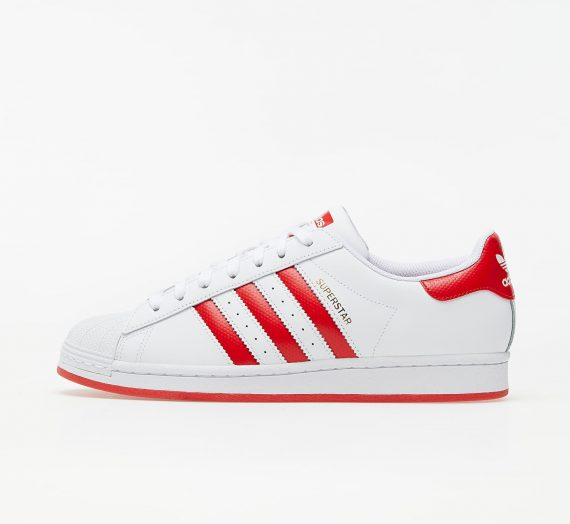 adidas Superstar Ftw White/ Lust Red/ Gold Metalic 59296