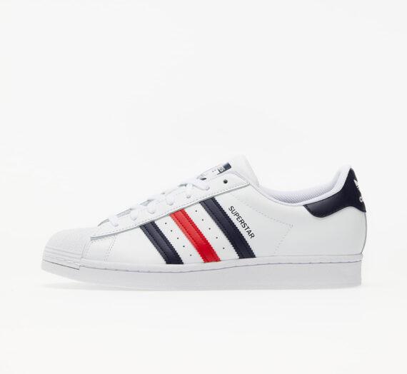 adidas Superstar Ftw White/ Scarlet/ Ftw White 59374