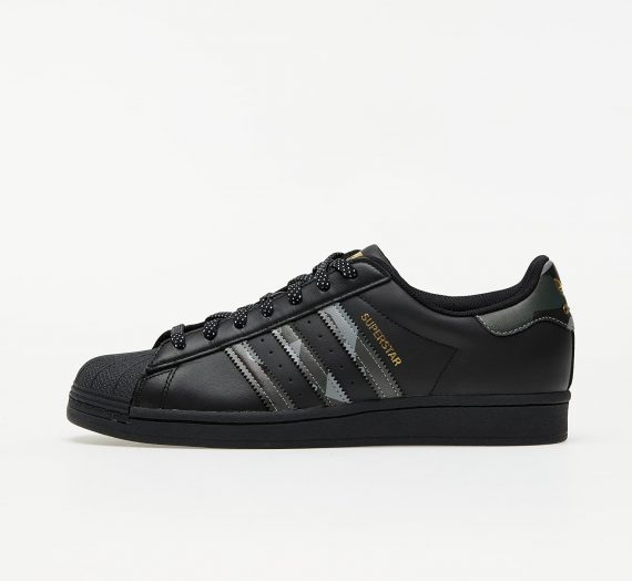 adidas Superstar Core Black/ Core Black/ Gold Metalic 59458