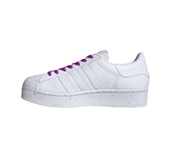 adidas Superstar Bold W Clean Classics Ftw White/ Ftw White/ Shock Purple 59500