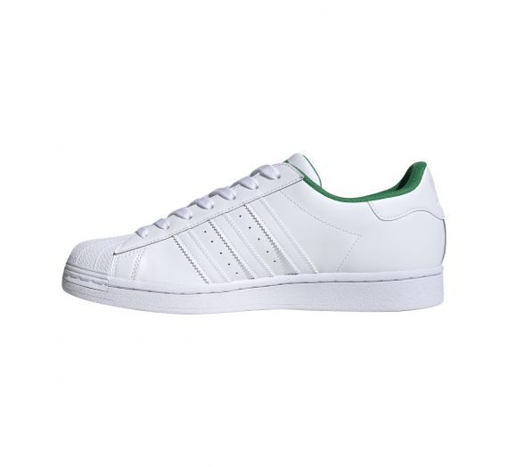 adidas Superstar Ftw White/ Ftw White/ Green 59518