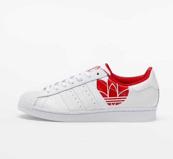 adidas Superstar Ftw White/ Ftw White/ Scarlet 59521