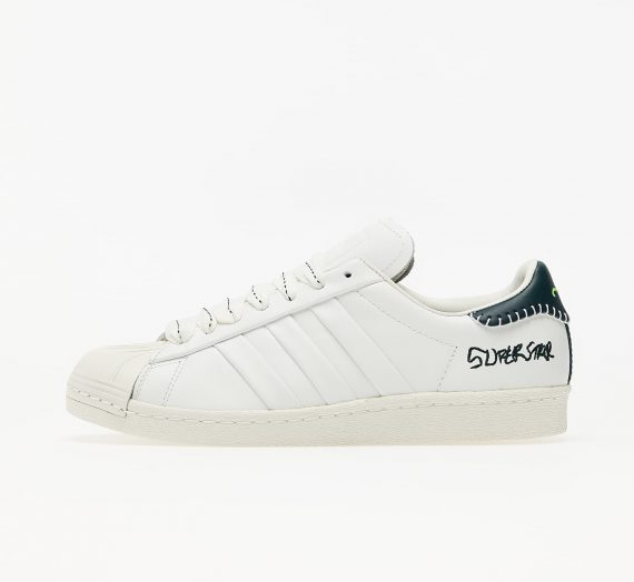 adidas x Jonah Hill Superstar Core White/ Green Night F17/ Off White 61372