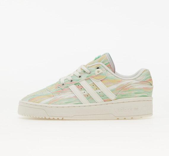 Дамски кецове и обувки adidas Rivalry Low W Core White/ Core White/ Frozen Green 102799_4_5