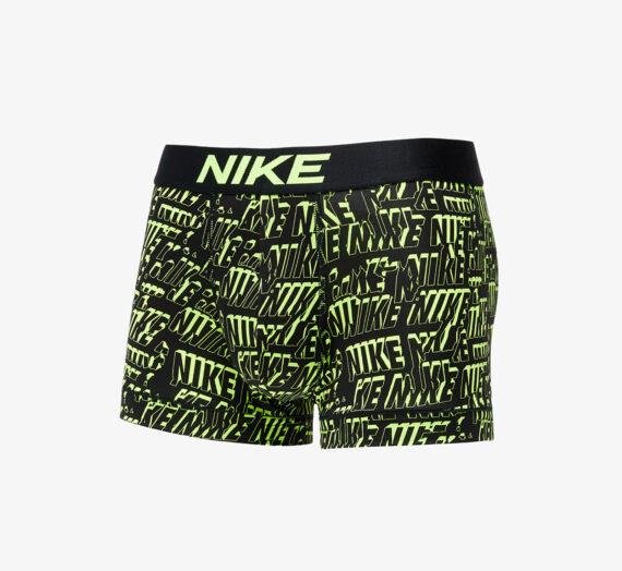 Боксерки Nike Trunk Black/ Volt Logo Print 120214_S