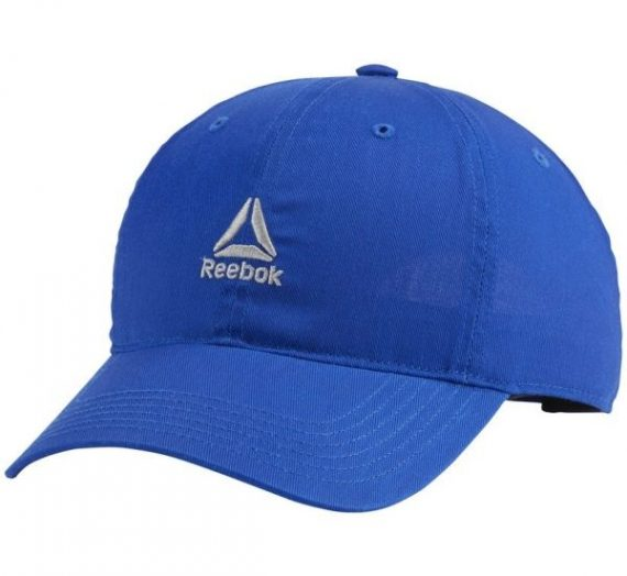 Reebok ACTIVE FOUNDATION LOGO CAP синьо  – Мъжка шапка с козирка 1486056