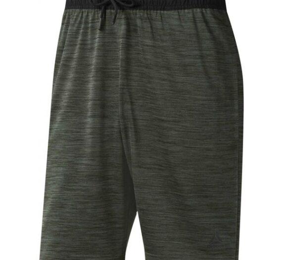 Reebok WORKOUT READY KNIT SHORT тъмносив 2XL – Мъжки къси панталони 1489034