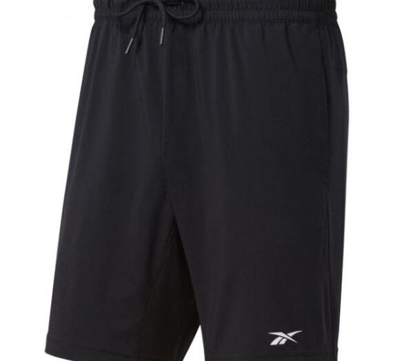 Reebok WORKOUT WOVEN SHORT черен 2XL – Мъжки тренировъчни къси панталони 1703625