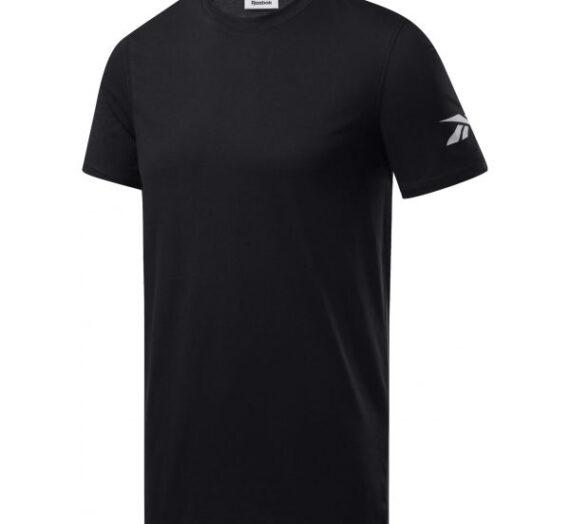 Reebok WORKOUT WE COMM SS TEE черен XL – Мъжка тениска 1704861
