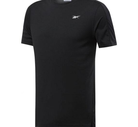 Reebok WORKOUT SS TECH TEE черен XL – Мъжка тениска 1705239