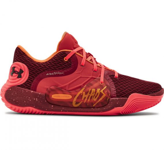 Under Armour SPAWN 2 червено 13 – Мъжки баскетболни обувки 1713175