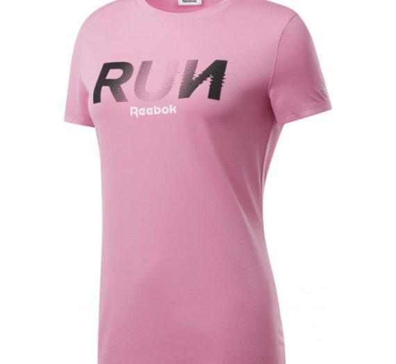 Reebok RE GRAPHIC TEE розов XL – Дамска блуза 1735831
