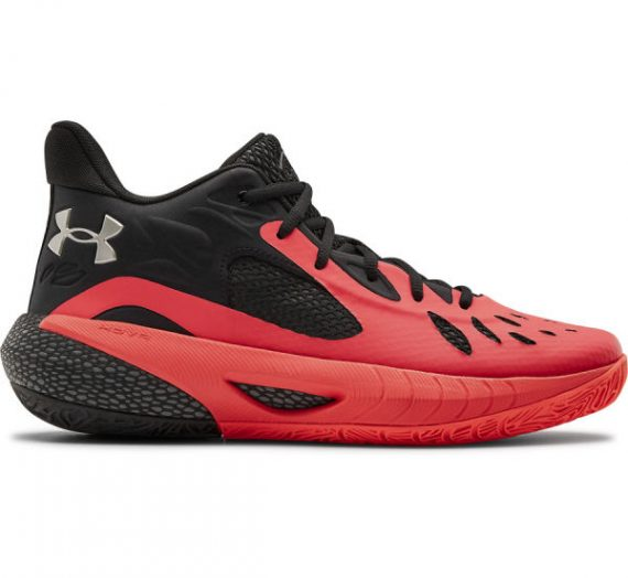 Under Armour HOVR HAVOC 3 червено 12 – Унисекс баскетболни обувки 1834463