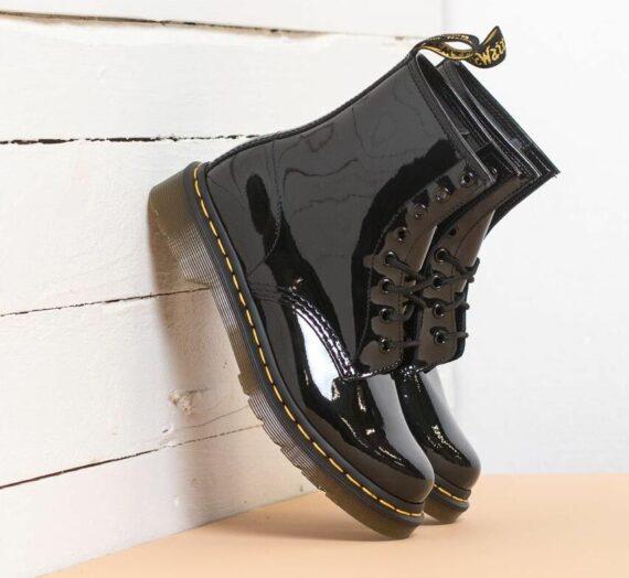 Дамски кецове и обувки Dr. Martens Patent Lamper Black 21402_7